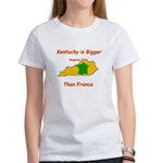 Kentucky is Bigger than France Women's T-Shirt
