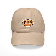 Point Pleasant Beach NJ - Oval Design Baseball Cap