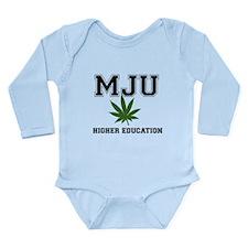 MJU Long Sleeve Infant Bodysuit