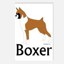 Fawn Boxer Postcards (Package of 8)