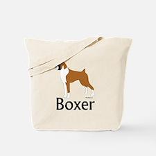 Fawn Boxer Tote Bag