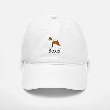 Fawn Boxer Baseball Baseball Cap