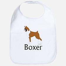 Fawn Boxer Bib