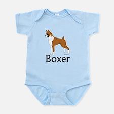 Fawn Boxer Infant Bodysuit