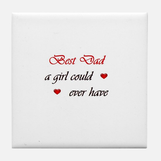 Gifts Dad Will Cherish Tile Coaster