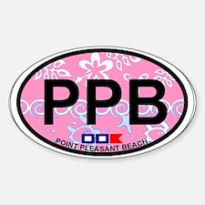 Point Pleasant Beach NJ - Ovall Design Decal