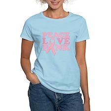 Peace Love Pink T-Shirt