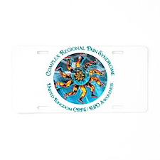 United Kingdom CRPS/RSD Hand Aluminum License Plat