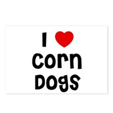 I * Corn Dogs Postcards (Package of 8)