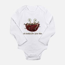 He Boiled For Your Sins Long Sleeve Infant Bodysui