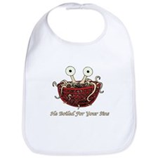 He Boiled For Your Sins Bib