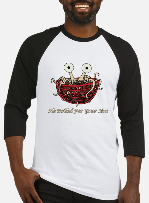 He Boiled For Your Sins Baseball Jersey