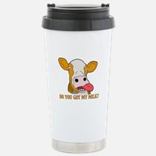 Milk Stainless Steel Travel Mug
