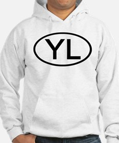 YL - Initial Oval Hoodie