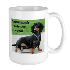 Dachshunds Rule the World Mug