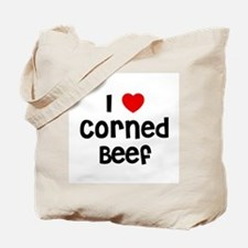 I * Corned Beef Tote Bag