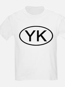 YK - Initial Oval Kids T-Shirt
