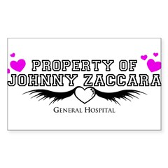 Property of Johnny Decal