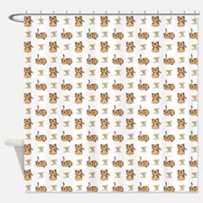 CATS with LOGO Shower Curtain
