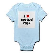 I * Deviled Eggs Infant Creeper