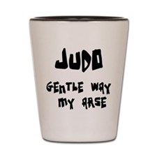 Cute Judo Shot Glass