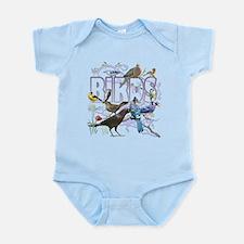 Bird Friends Infant Bodysuit
