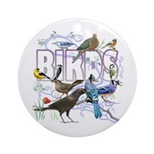 Bird Friends Ornament (Round)