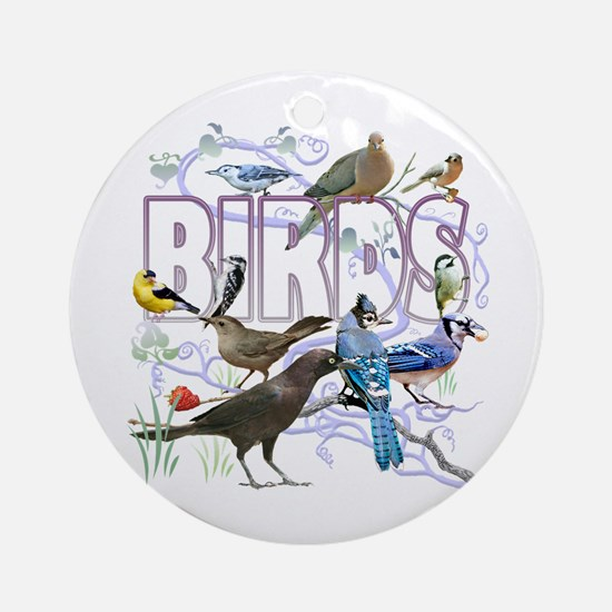 Bird Friends Ornament (Round)