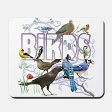 Bird Friends Mousepad