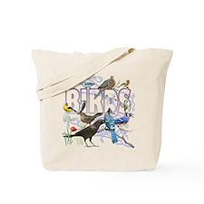 Bird Friends Tote Bag