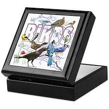 Bird Friends Keepsake Box
