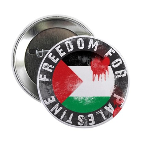 """Freedom for PALESTINE 2011 2.25"""" Button"""
