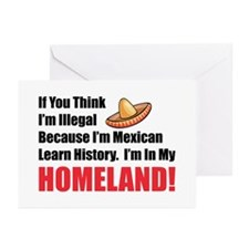 In My Homeland Greeting Cards (Pk of 10)
