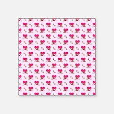 """KISSING CHIHUAHUA'S Square Sticker 3"""" x 3"""""""