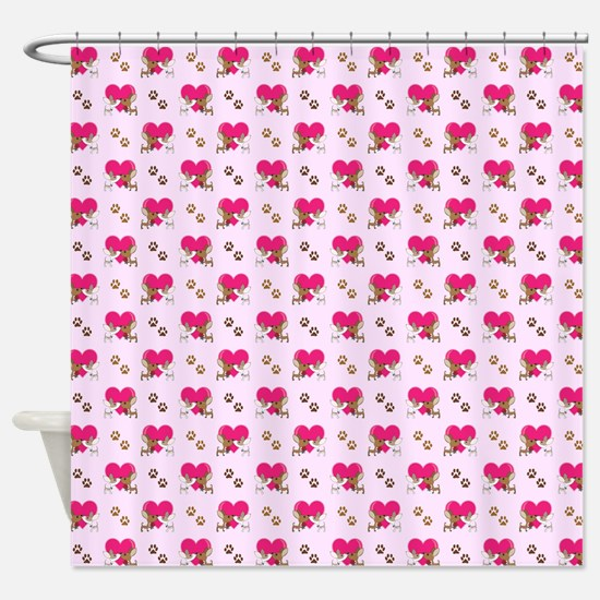 KISSING CHIHUAHUA'S Shower Curtain