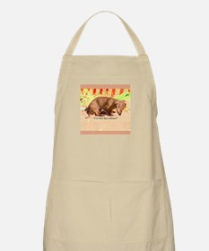 Lost Contacts Dachshund Dog BBQ Apron