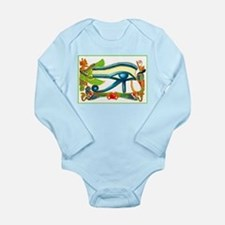 Best Seller Egyptian Long Sleeve Infant Bodysuit
