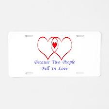 Baby Love Aluminum License Plate