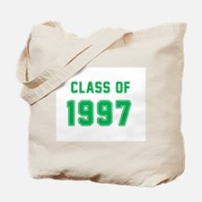 Class of 1997 Green Tote Bag