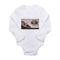 Touched By His Noodly Appenda Long Sleeve Infant B