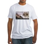Touched By His Noodly Appenda Fitted T-Shirt