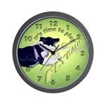 Lots of Tennis Balls! Wall Clock