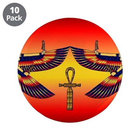 "Best Seller Egyptian 3.5"" Button (10 pack)"