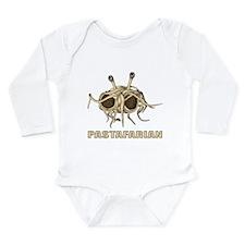 Pastafarian Long Sleeve Infant Bodysuit
