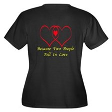 Baby Love (dark apparel) Women's Plus Size V-Neck