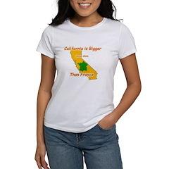 California is Bigger Women's T-Shirt