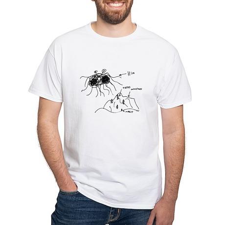 Original Drawing White T-Shirt
