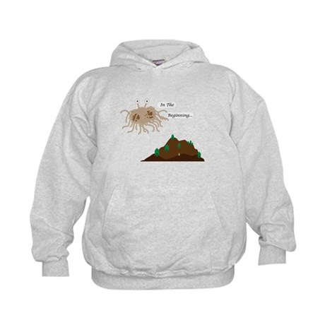 In The Beginning Kids Hoodie