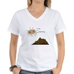 In The Beginning Women's V-Neck T-Shirt