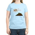 In The Beginning Women's Light T-Shirt
